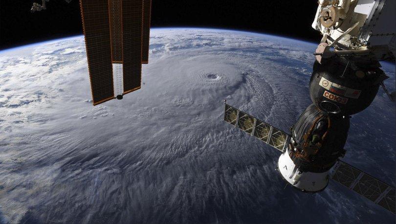 NASA'dan ürküten fotoğraf: ABD, Lane Kasırgası'na hazırlanıyor