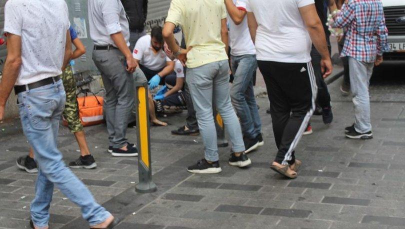 Taksim'de silahlı sesleri... 1 kişi yaralandı