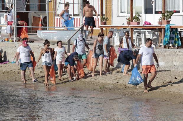 'Bircam Vakfı Sıfır Atık Gönüllüleri'nden temizlik kampanyası