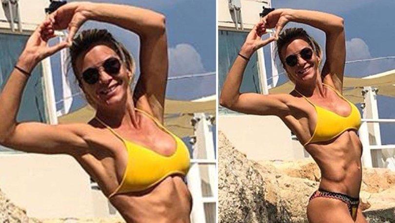 Ivana Sert'ten plajda kaslı poz! Ivana Sert kimdir? - Magazin haberleri