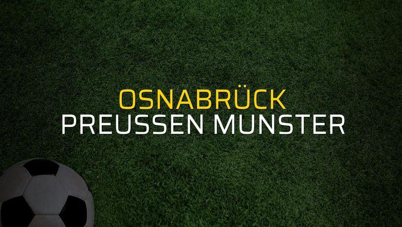 Osnabrück - Preussen Munster maçı heyecanı