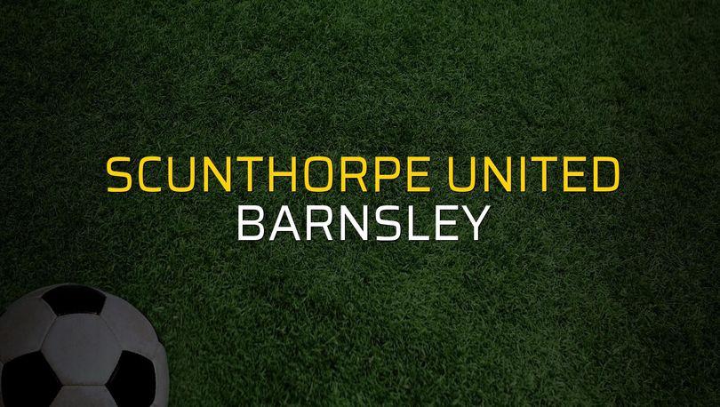 Scunthorpe United - Barnsley maçı rakamları