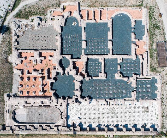 Ankara'nın açık hava müzesi: Roma Hamamı