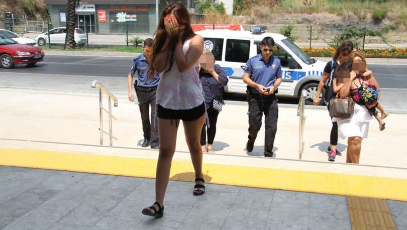 Alanya'da aile boyu hırsızlık: Anne ve 2 kızı adliyeye sevk edildi