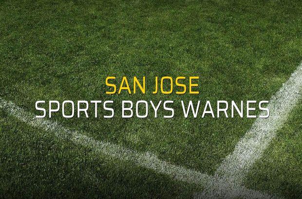 San Jose - Sports Boys Warnes düellosu