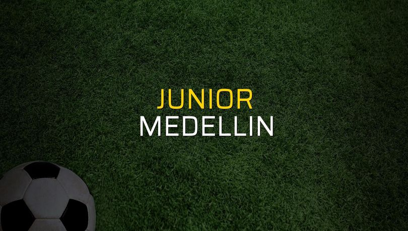 Junior - Medellin maçı istatistikleri