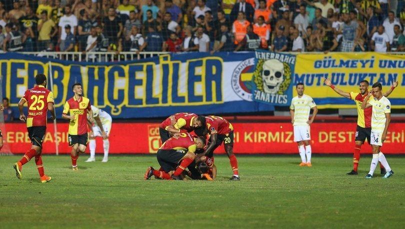 Göztepe: 1 - Fenerbahçe: 0 | MAÇ SONUCU