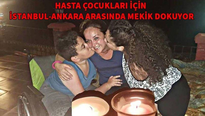 Anneliğin gücü! Hasta çocukları için İstanbul Ankara arasında mekik dokuyor...