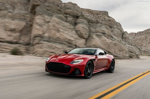 Aston Martin'in yeni süper otomobili DBS Superleggera