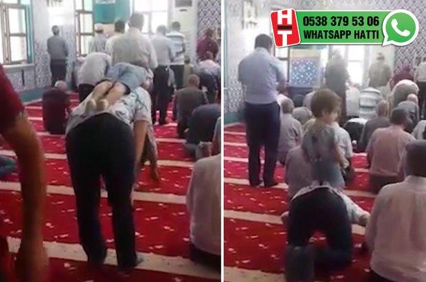 Camide bir babanın en zor anı...