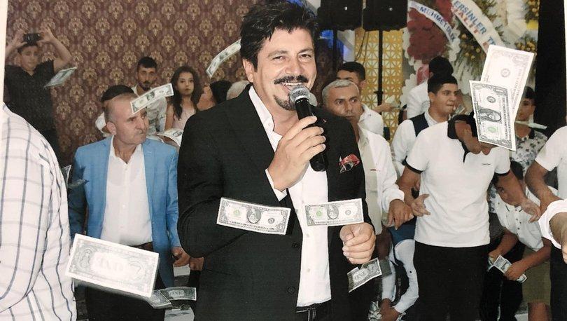 Türkücü Ekin katıldığı düğünde tepesinden yağan dolarlara böyle şaşırdı