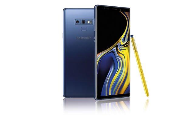 Samsung Galaxy Note 9 ışık sızıntısı