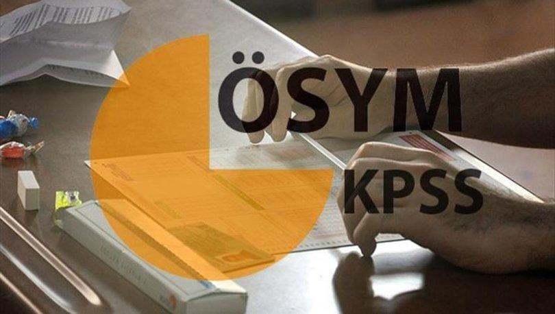 KPSS sonuçları ne zaman açıklanacak? 2018 KPSS lisans sınavı sonuç tarihi ÖSYM