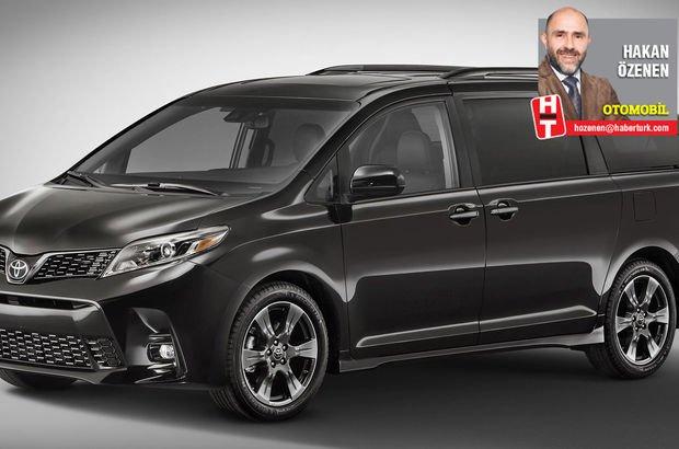 Toyota Sienna Uber'e çalışacak