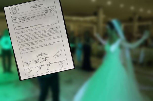 Belediye karar verdi: Düğünler 2 gün geçmesin