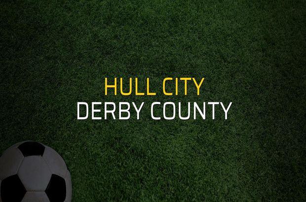Hull City - Derby County maçı heyecanı