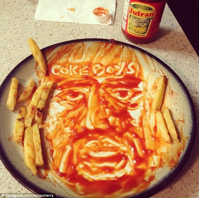Banksy, Andy Warhol ve Vincent van Gogh yemek masasında
