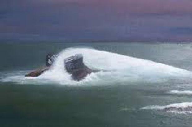 Çin'de kargo gemisi battı