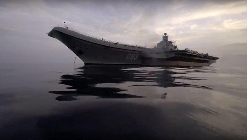 Son dakika: Rusya ve ABD Akdeniz'de donanmalarını güçlendiriyor