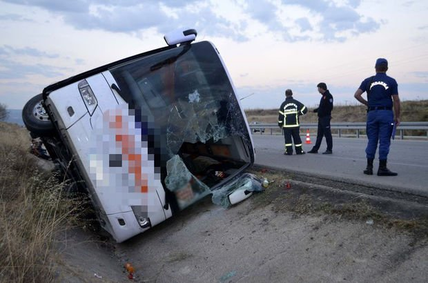 Merzifon otobüs kazası