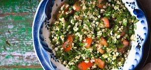 Buğday salatası nasıl yapılır? Buğday salatası tarifi ve malzemeleri