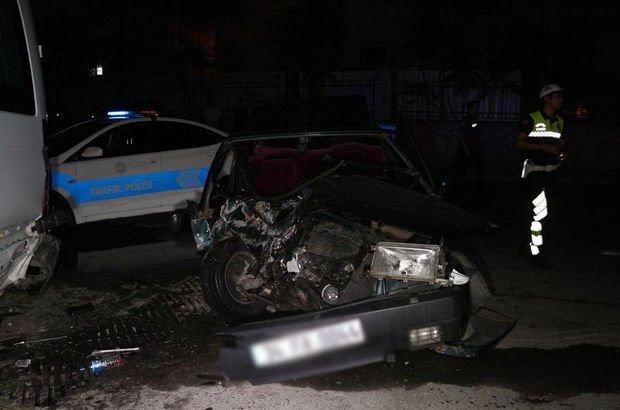 Fatih'te trafik kazası