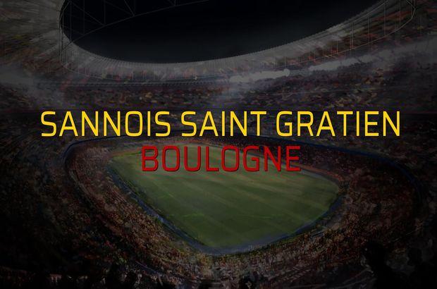 Sannois Saint Gratien - Boulogne maçı istatistikleri