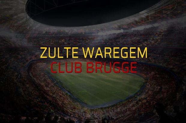 Zulte Waregem - Club Brugge karşılaşma önü