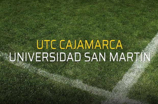UTC Cajamarca - Universidad San Martin maçı heyecanı