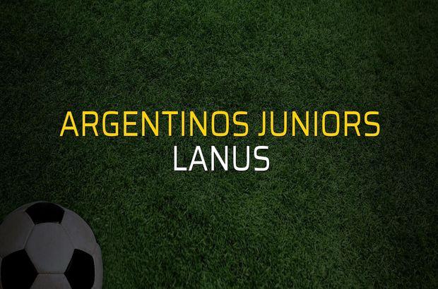 Argentinos Juniors - Lanus düellosu