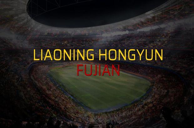 Liaoning Hongyun - Fujian sahaya çıkıyor