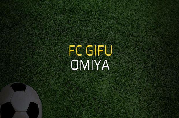 FC Gifu - Omiya maçı ne zaman?