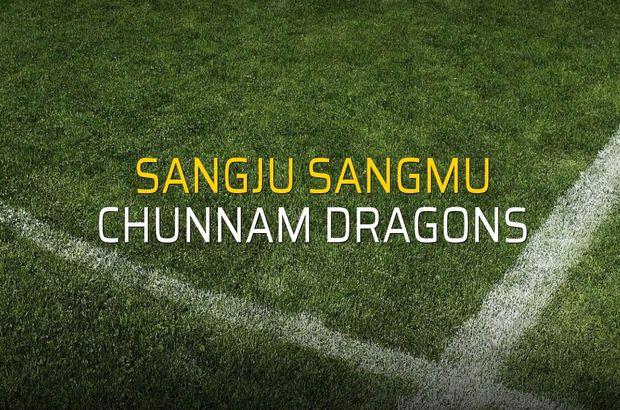 Sangju Sangmu - Chunnam Dragons rakamlar