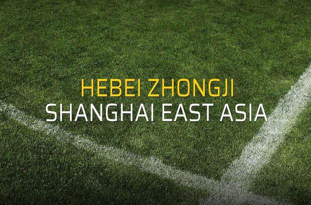 Hebei Zhongji - Shanghai East Asia maç önü