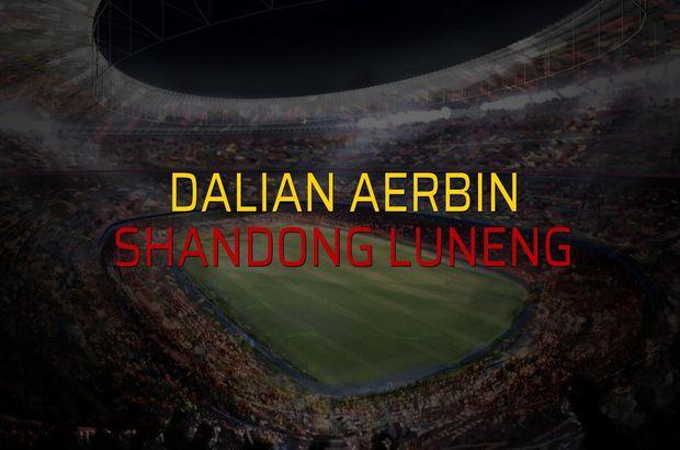 Dalian Aerbin - Shandong Luneng rakamlar