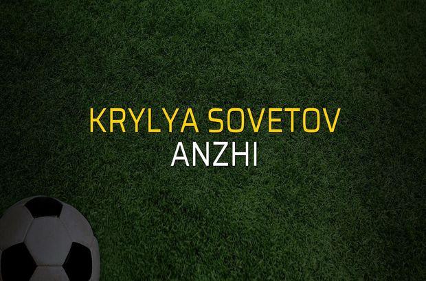 Krylya Sovetov - Anzhi maçı öncesi rakamlar