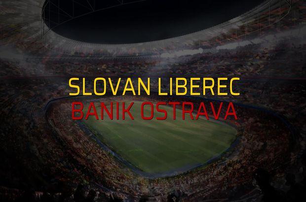 Slovan Liberec - Banik Ostrava maçı rakamları
