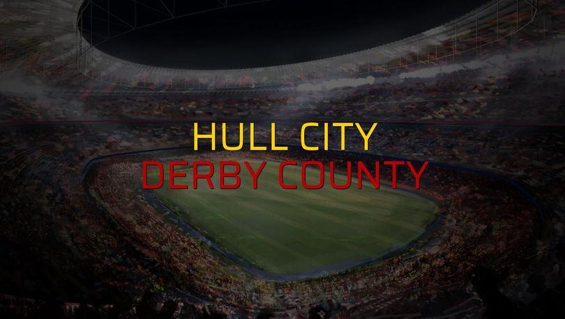 Hull City - Derby County maçı rakamları