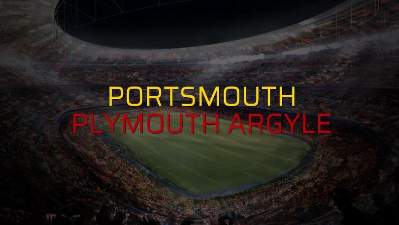 Portsmouth - Plymouth Argyle düellosu