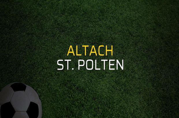 Altach - St. Polten rakamlar