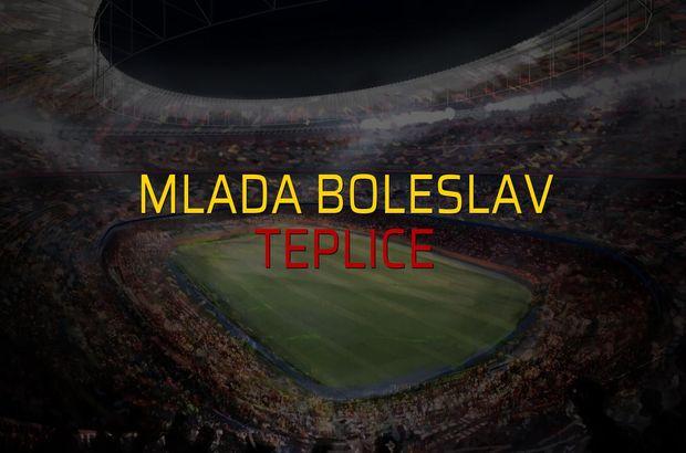 Mlada Boleslav - Teplice karşılaşma önü
