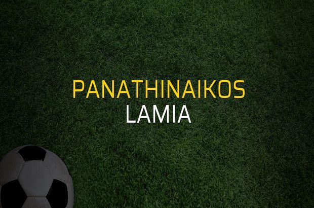 Panathinaikos - Lamia maçı heyecanı