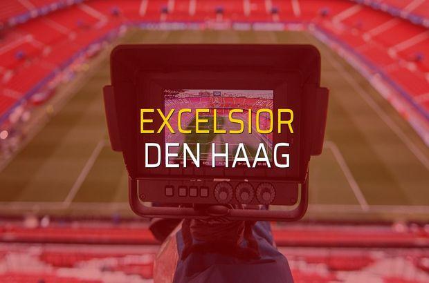 Excelsior - Den Haag karşılaşma önü