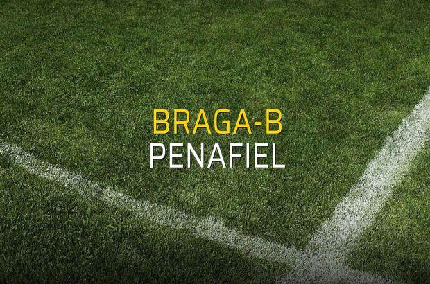 Braga-B - Penafiel rakamlar