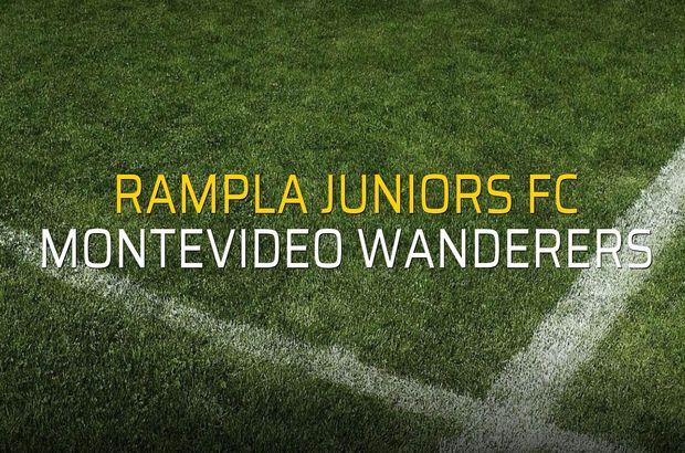 Rampla Juniors FC - Montevideo Wanderers maçı heyecanı