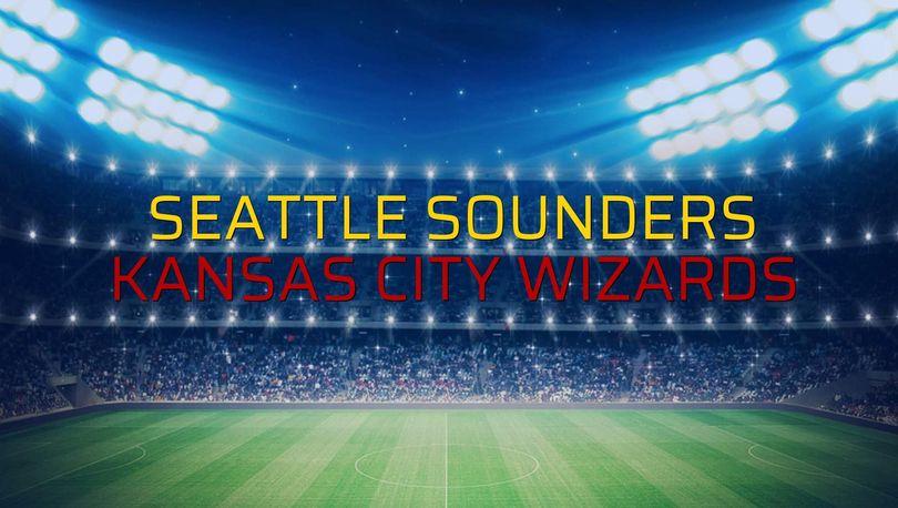 Seattle Sounders - Kansas City Wizards maçı rakamları
