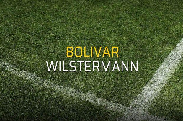 Bolivar - Wilstermann maçı heyecanı