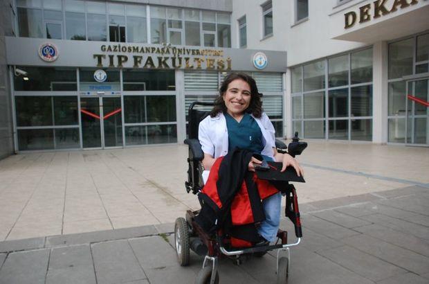Engelli Sare Aydın'ın başarısı