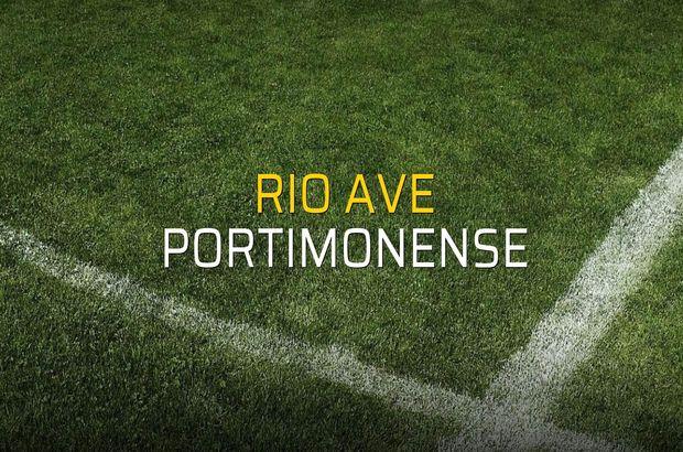 Rio Ave - Portimonense maçı heyecanı