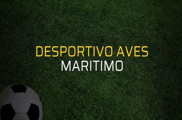 Desportivo Aves - Maritimo rakamlar